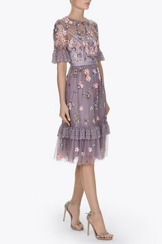 DITSY SCATTER DRESS - Dresses - All Womenswear | Contemporary British Clothing