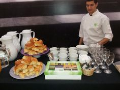 Coffee break para evento corporativo