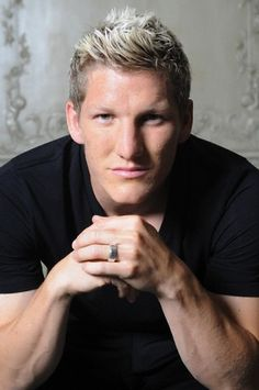 Bastian schweinsteiger(so i watch all the games in spanish right and the way the anouncer says his name is so funny)
