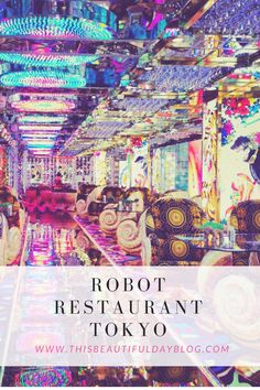 Photos + review of the infamous Robot Restaurant Bar in Tokyo, Japan. Like Medieval Times with robots in the Shinjuku District!
