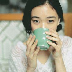 Cup of joe, beautiful face