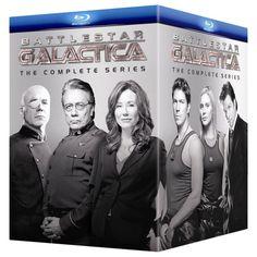 Battlestar Galactica: The Complete Series on Blu-ray $183