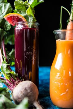 Citrus Beet Energy Juice