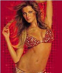 The most expensive bra and underwear - Victoria Secret's Red Hot Fantasy $15,000,000.00