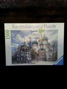 Ravensburger Russian Monastery 1500 Piece Puzzle