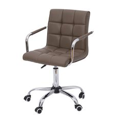 Allow yourself to relax and sit comfortably while working with the HomCom mid back executive chair. The stylish design will be able to fit in with any office or home working area. This chair provides optimal lumbar support for those who have to sit for long hours while working. The softly padded seat allows you to sit without hurting your back from an uncomfortable chair. Adjust the seat to find the right height that fits your body with the pneumatic gas lift while the base comes with smooth…