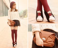 Victoria Sponge Cake ♥ (by Dotthy Wong) http://lookbook.nu/look/2753675-Victoria-Sponge-Cake