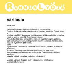 Marika Luokkalan värilaulu Opi, Iphone, Kids, Young Children, Boys, Children, Boy Babies, Child, Kids Part