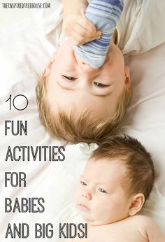 activities for babies and big kids title