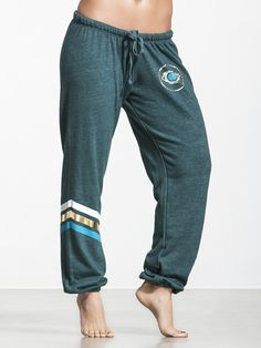 All Seeing Eye Favorite Sweatpant by SPIRITUAL GANGSTER - BOTTOMS & SWEATPANTS