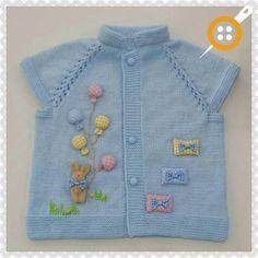 Hızlı ve Kolay Resim Paylaşımı - resim yükle - resim paylaş - Hızlı Resim [] # # # # # # # # # Cardigan Bebe, Knitted Baby Cardigan, Baby Pullover, Knitted Baby Clothes, Knit Vest, Baby Knitting Patterns, Baby Clothes Patterns, Knitting For Kids, Crochet For Kids