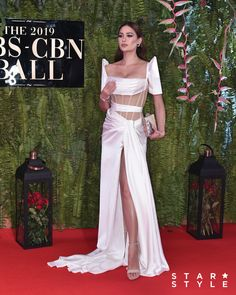 Arci Muñoz in Michael Leyva Michael Cinco Gowns, Miss Universe Gowns, Philippines Dress, Modern Filipiniana Gown, Elegant Dresses, Nice Dresses, Mahal Kita, Filipino Fashion, Chic Outfits