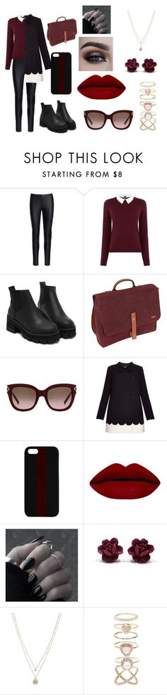 """""""Untitled #5"""" by susi-velasquez on Polyvore featuring Michael Kors, Oasis, Levi's, Tory Burch, RED Valentino, Maison Takuya, LC Lauren Conrad and Accessorize"""
