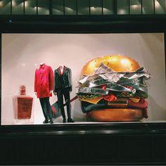 """DLT Department Store,Saint Petersburg,Russia, """"Burgerfuel"""", pinned by Ton van der Veer"""