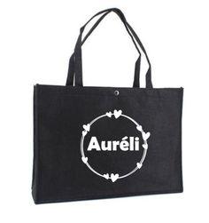 Vilten shopper tas met opdruk Reusable Tote Bags, T Shirt, Seeds, Supreme T Shirt, Tee Shirt, Tee
