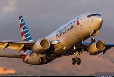 American Airlines Boeing 737-823 post merger livery