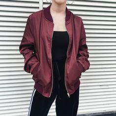 Bomber Jacket, Kpop, Jackets, Style, Fashion, Down Jackets, Swag, Moda, Stylus