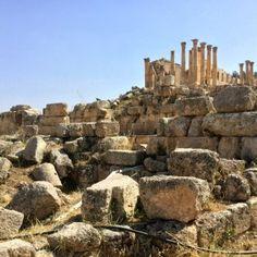 Jerash ruinas de Jordania - una vez una gran ciudad romana20