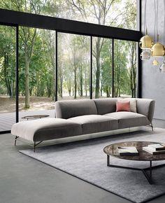 TORTONA | Fabric sofa by NICOLINE