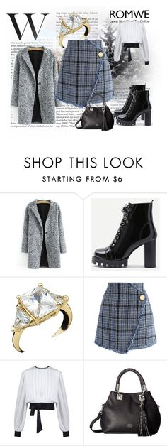 """Romwe 1"" by dinka1-749 ❤ liked on Polyvore featuring Chicwish and Vince Camuto"