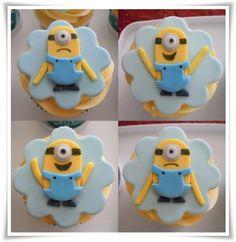Minion Fondant Cupcake Toppers