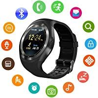 Unisex Bluetooth Smart Watch for Sim Card Support/Touch Screen/Compatible with All Android Mobile PhonesSmart Watches for Kids BoysDigital Watch for Boys(Random Color) .HNESS Unisex Bluetooth Smart Watch for Sim. Stylish Watches, Cool Watches, Watches For Men, Sport Watches, Smartwatch Bluetooth, Best Fitness Watch, Fitness Watches For Women, Smartphone, Wearable Device