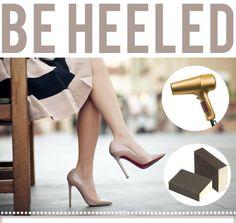 "DIY:: Simple Way to ""Break In"" Heels"