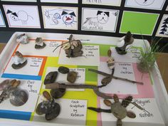 Irresistible ideas for play-based learning: Sculptures made from natural items and hot glue. LOVE THIS!