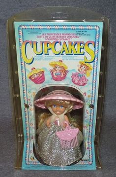 Cupcakes by Kenner. I'm surprised these aren't hot right now with the whole hipster cupcake phase