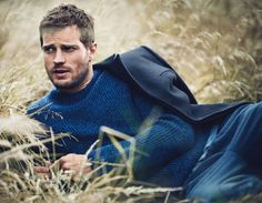 I could get behind this version of Christian - Jamie Dornan