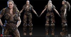 imagenes de de gears of war locust characters - Buscar con Google