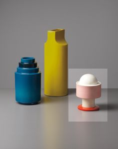 ETTORE SOTTSASS JR., Lidded vase, model no. 386
