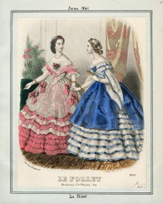 In the Swan's Shadow: Le Follet, June 1861