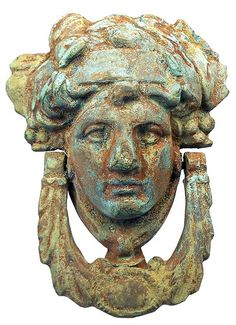 Ancient Roman Bronze Door Knocker