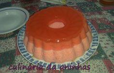 Bavaroise/ pudim gelatina