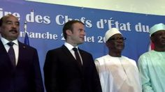 Macron Pledges Support for Fight Against Terrorism in Sahel