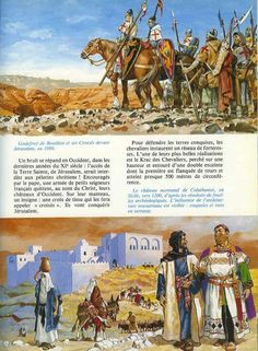 Extract from (AUT) Joubert – France castles – Vinland Saga Military Art, Military History, Friedrich Ii, Vinland Saga, Château Fort, Medieval World, Comic Pictures, Artist Gallery, Ancient Civilizations