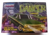 Lindberg Chevy Impala Lowrider 1/25 Scale Really Bounces!! NEW IN BOX  AWESOME