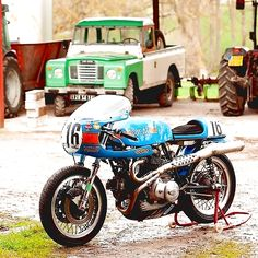Ducati Cafe Racer   Bikini #motorcycles #caferacer #motos   caferacerpasion.com