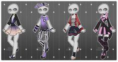 Gacha outfits 38 by kawaii-antagonist.deviantart.com on @DeviantArt