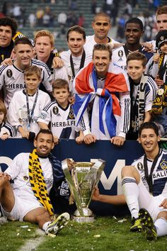 David Beckham ends his time at LA Galaxy with the MSC Cup and his boys by his side - Picture 3