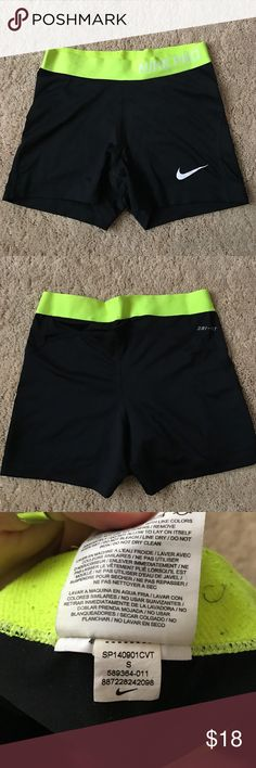 Nike Pro Spandex Worn but great condition! Nike Shorts