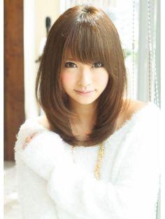 王道愛され内巻きストレート - 24時間いつでもWEB予約OK!ヘアスタイル10万点以上掲載!お気に入りの髪型、人気のヘアスタイルを探すならKirei Style[キレイスタイル]で。