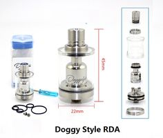 >> Click to Buy << New Arrial SXK Style Doggy Style RDTA RDA RTA E-Cigarette 316 Stainless Steel Vaporizer 22mm diameter DIY Quality Smoke tank #Affiliate
