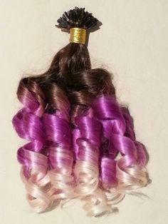 """18"""" U tip pastel hair extensions- $179.99"""