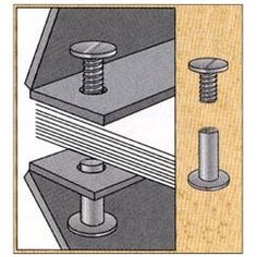 1/8 in. Aluminum Screw Posts/Chicago Screws (Qty 100 sets):Amazon:Office Products