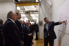 El Rey Felipe VI en Burgos para visitar las instalaciones de la nueva fábrica de Campofrío 23-11-2016