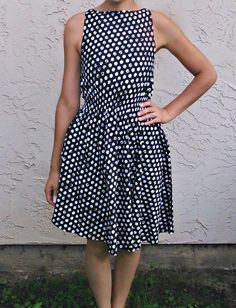 FREE dress sewing pattern and tutorial!