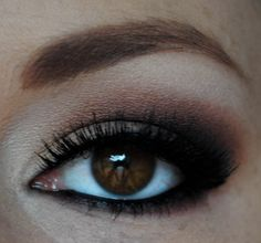 This honestly looks like my eye makeup on a good day. My eyes are the exact same color too!