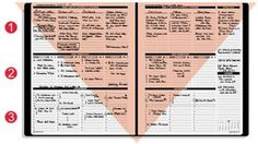 Planner Pad - keep track of long term and daily goals/appointments on one page - can order ones starting in July '14